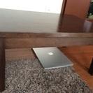 終了)無印MUJI天然木ローテーブル