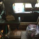 革靴用のミシン
