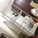 【5段ラック♡可動棚ホワイト】