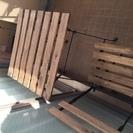 【取引中】IKEAの屋外テーブルと...