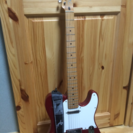 Fender mexico telecaster 赤白