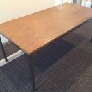 【木製天板】ダイニングテーブル【机・大きいサイズ】