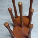 木製スリッパスタンド