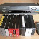 三菱VHS HiFi SQPB ビデオカセットレコーダー