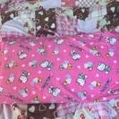 (お取引完了)保育園!!キティのお昼寝布団セット