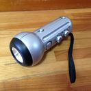 LEDライト付きラジオ