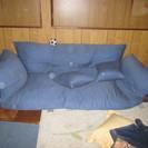 青色のソファー(デッドストック品処分)
