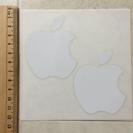 Apple リンゴステッカー 2枚