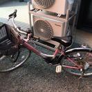 女児用24インチ自転車