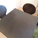 【2月28日(明日)限定】 美品 2人用ダイニングテーブル・チェア...