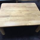 (交渉中)木のローテーブル