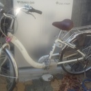 電動自転車を譲ります。
