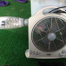 多機能充電式扇風機  扇風機・AM/FMラジオ・LED照明・スポッ...