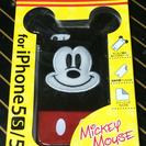 値下げ↓iPhone 5/5S/SE ミッキーぬいぐるみケース