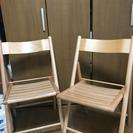 (お取引中)折りたたみ椅子
