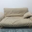 簡易ベットにもなれるソファー