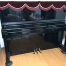 消音装置付きアップライトピアノ