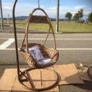 吊り椅子 ブラウン系