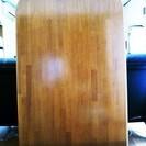 無償、半楕円テーブル+イス4脚 まだまだ使えるダイニングセット!