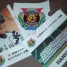 阪神タイガース 2003年 優勝記念クリアファイル 3枚