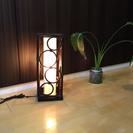 フロアライト 新品 アジアン バリ風 照明インテリア家具
