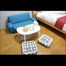 ダブルベッド ソファベッド 10000円