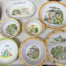 子供用食器【プラスティック製】全7種類14個 まとめ売り
