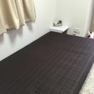 脚つきマットレスベッド