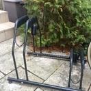 交渉中 自転車スタンド  ラック 2台用 サイクルスタンド