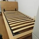 【無印良品】シングルベッドフレーム+ヘッドボード