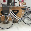 26インチ自転車 シルバー