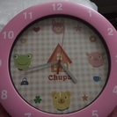 可愛いピンクの掛け時計