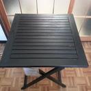 【交渉中】木製折りたたみテーブル