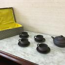 骨董品屋さんで購入した茶器セット