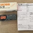 チューナー BOSS TU-8  guitar & base au...