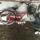 ほぼ未使用!26インチ自転車売ります。
