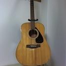 ギターセット中古(アコースティックギター、ソフトギターケース、ピッ...