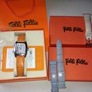 一部終了☆【美品含】フォリフォリ 腕時計&替えベルト