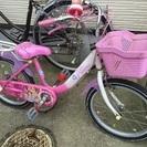 プリンセス 18センチ 自転車 三...