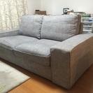 IKEA製2人掛けソファ