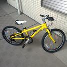 【値下げ】20インチ 子供用自転車【6段変速ギア】