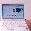 ノートパソコン シャープメビウス 2008年製