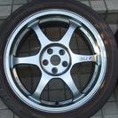 (取引中)アルファ147、156他用ホイール、タイヤ4本セット(中古)