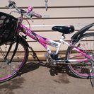 【再値下げ】子供用自転車24インチ(6段変速)