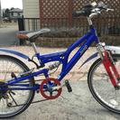 子供用自転車「 Jeep」フルサス USED