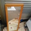 姿見 木製 ガラス