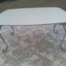 ホワイト テーブル差し上げます。