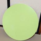 折りたたみ式ミニラウンドテーブル(汚れ、キズあり)