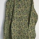 未使用タグなし 迷彩柄長袖シャツ Lサイズ