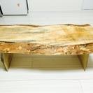 ★交渉中★一枚板のローテーブル